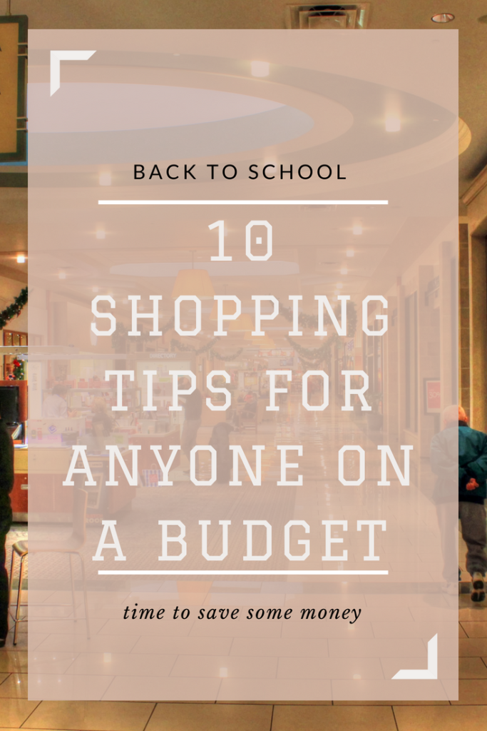 Need help staying on a budget during the school year? Here are ten tips to help you save money. #college