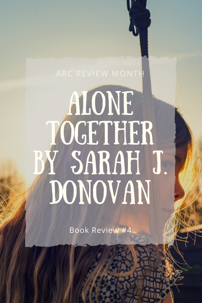 In this blog post, I review Sarah J. Donovan's young adult verse novel, Alone Together.