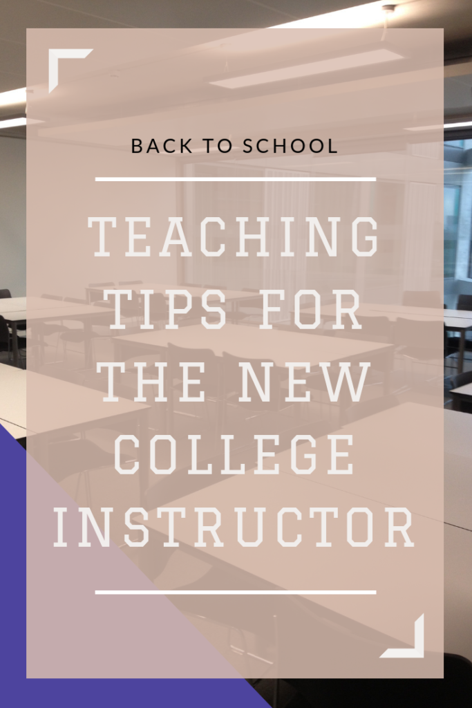 New to teaching college courses? Looking for some help getting started in your course planning and structuring? Here are my top ten tips for new college instructors. These tips range from the course planning stage to actually teaching the courses during the semester. #education #teaching