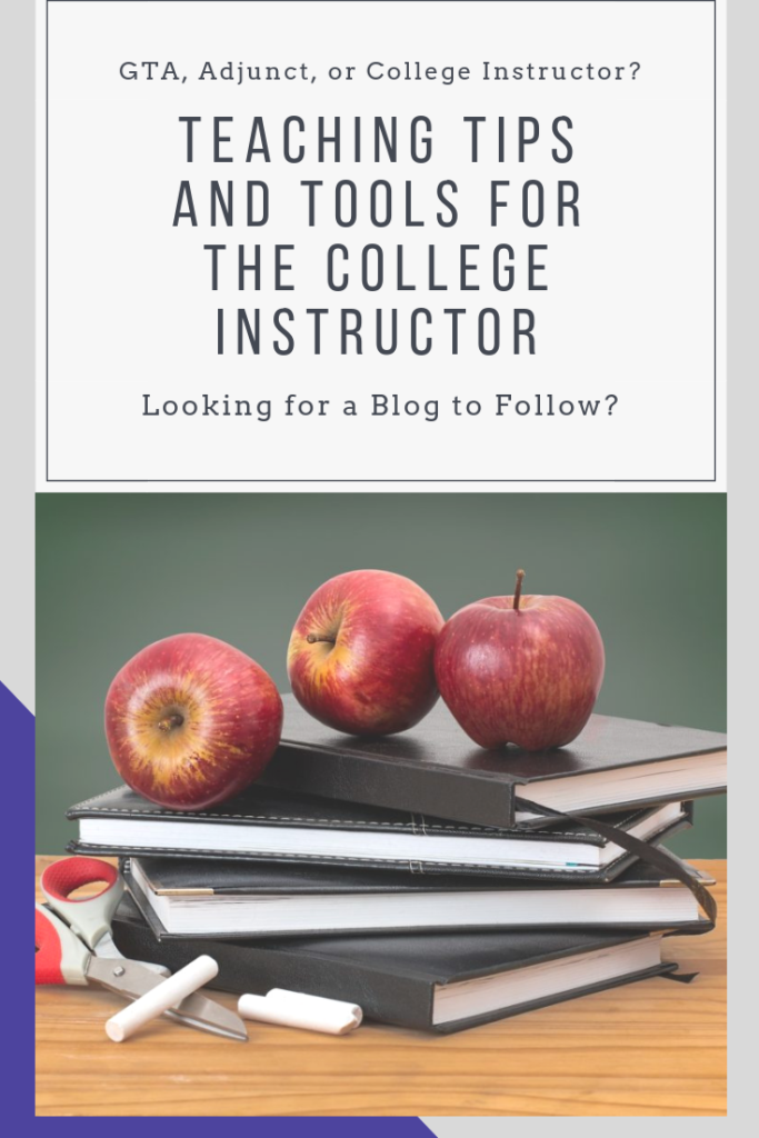 Looking for a blog that's about teaching tips, tools, ideas, and resources for new college instructors? You've found it! There's even a free resource library for you to explore and download from! #education #highered