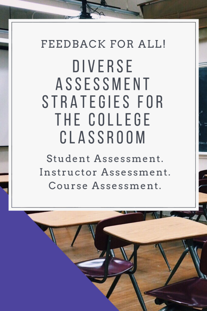 Not sure how to assess your students' learning throughout the semester? Here are diverse assessment strategies to try out in your class. Formative, summative, written, oral. By the instructor, by the student. So many options to try out. #education #assessment