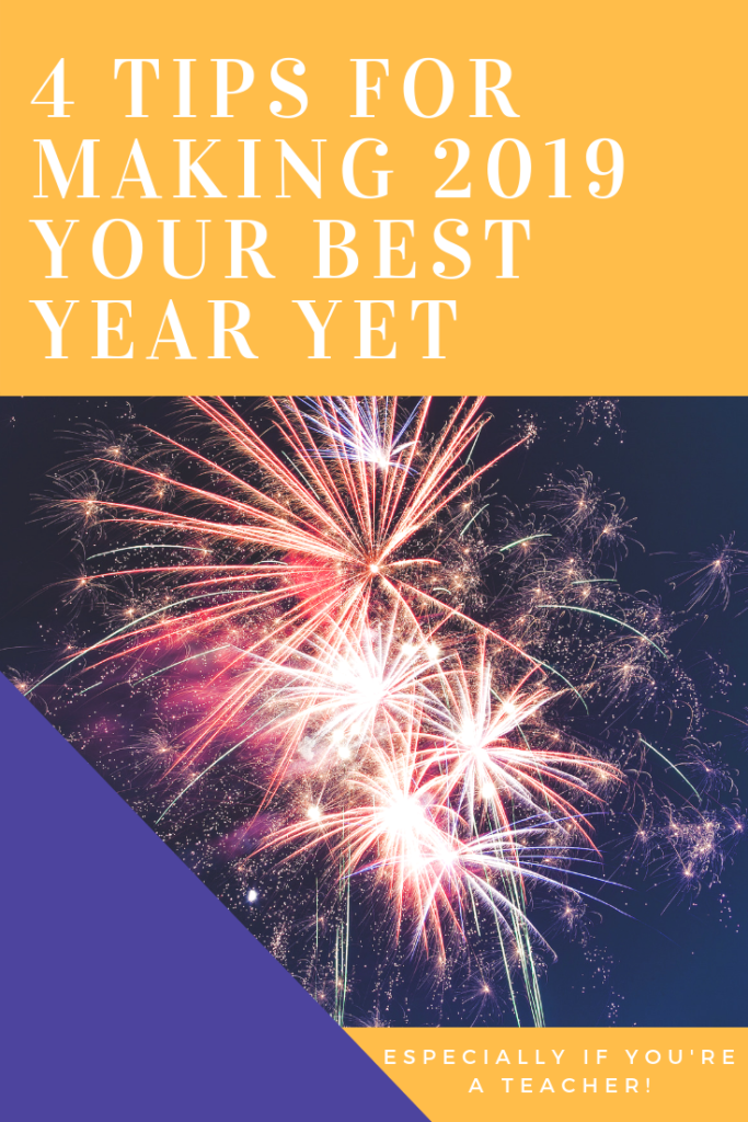Here are my four top tips for making the new year your best year yet! It's all about creating routines, habits, and careful plans! #planning #newyear