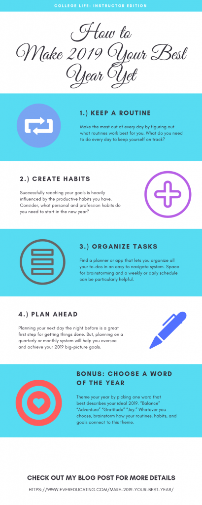 How to Make 2019 Your Best Year Yet (Infographic)