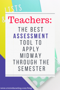 The BEST Assessment Tool to Apply Midway through the Semester
