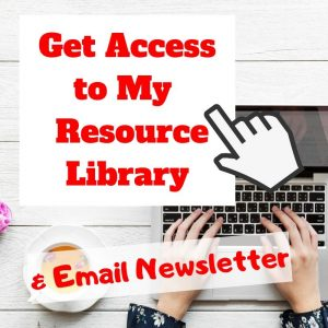 Resource Library & Newsletter Sign-Up