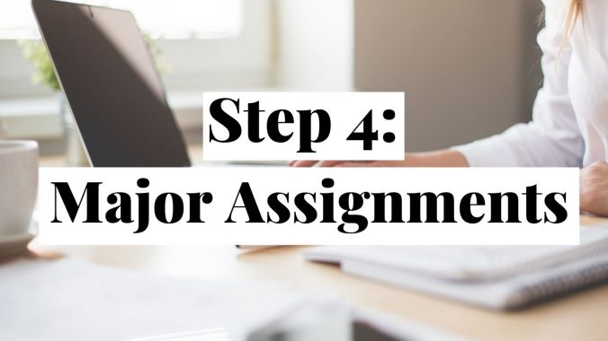 Successful Start: Types of Major Assignments for College Courses