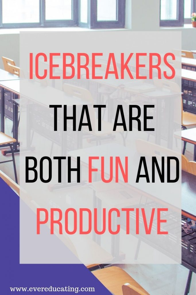 Looking for icebreaker ideas that are both fun for students, but productive, too? Here are a few ideas to get you started. Learn student names and interests in fast and fun ways.