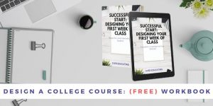 Design a College Course Workbook