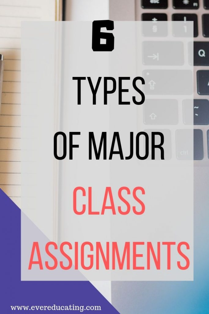 Not sure what major class assignments to include in your courses? Here are 6 examples of projects I've used that have worked well with my students. #teaching #highereducation