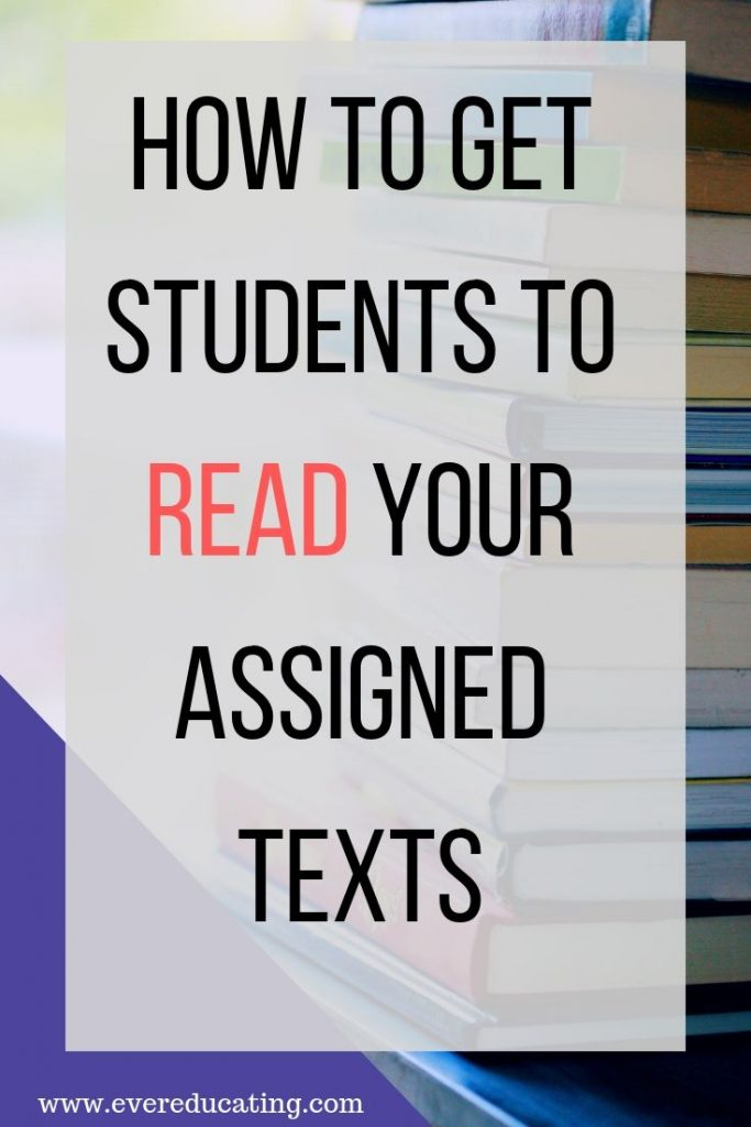 Not sure how to get your students to read the assigned texts? Struggling to get a good class discussion going in your general education literature class? Here are 3 strategies that can help.