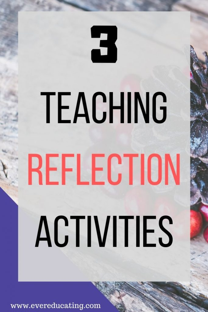 Looking to improve your teaching style and approach? Here are three teaching reflection activities that can help you meet that goal. Each approach is very different from the next, so you can find the perfect one for you! #teaching #reflection