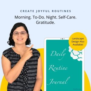 4 Daily Routine Journals